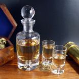 Mini Decanter Set Personalised, ref MDS1